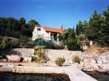 Vila na ostrově Brač